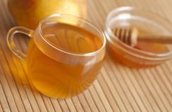 冬季美容必备饮品――香蕉蜂蜜茶