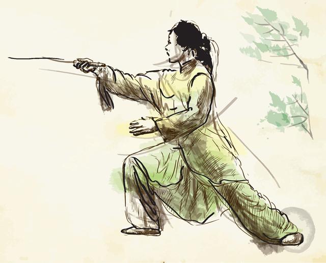 太极剑和太极拳对人体的好处有这些区别,不要再混淆了