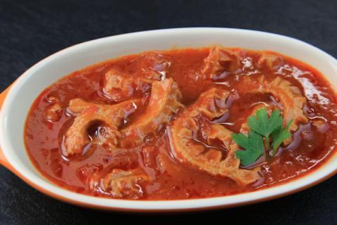一碗西红柿猪肝汤,补你冬日颜值与美目