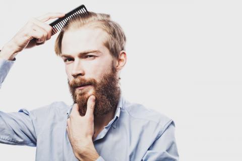 3个原因导致男性不长胡子 男人留胡子竟有这些好处