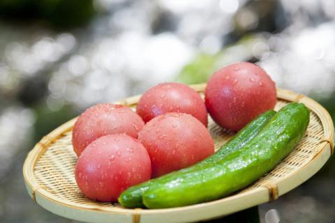 一款女人和孩子都喜欢的菜――西红柿炒山药