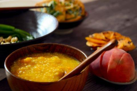 妈妈保持活力的养生粥品――红薯山药小米粥