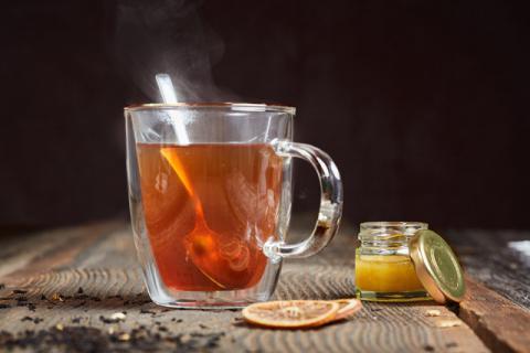 红茶配蜂蜜,天然养心颜的饮品