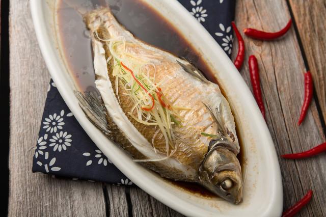 武昌鱼好吃出名,但是做法却很简单