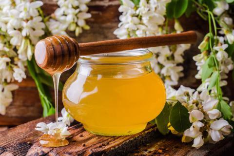 春季滋补特有的蜜种——槐花蜜