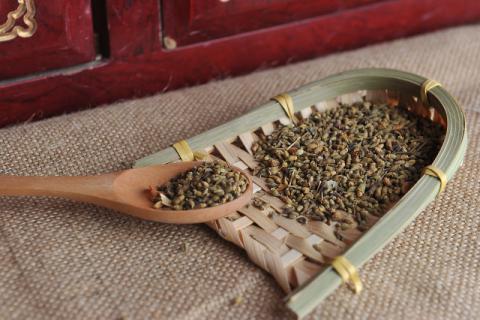未开的花蕾具有大的药用――槐米