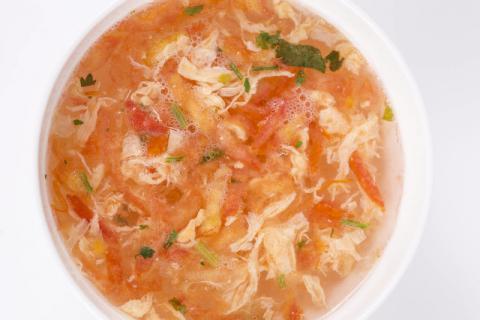 喝完还想喝,揭秘西红柿鸡蛋汤的标准做法
