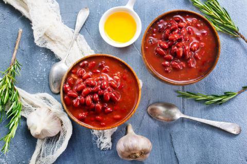 相思红豆生南国,红豆汤里搭配出营养来
