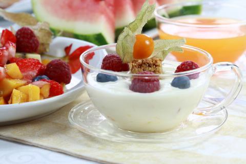 今天吃酸奶你舔盖了吗