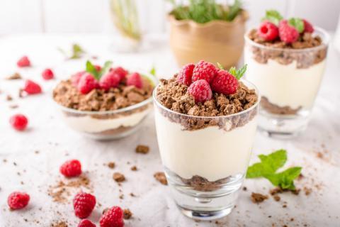 水果酸奶杯虽然美味,但酸奶并不是百搭的美食