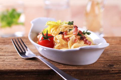 意大利面里面的绝色美味―洋葱