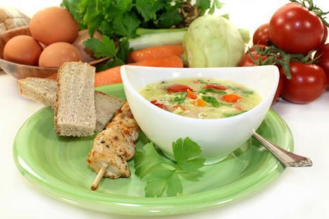 搅拌一碗美味的疙瘩汤,养出你的好肠胃