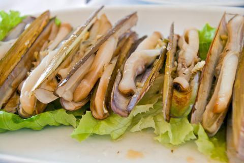又有一味海鲜入手,来自蛏子的美味诱惑