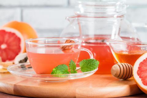 自己在家怎么做蜂蜜柚子茶,其实方法很简单