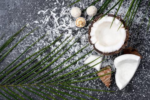 你所丢弃的椰子肉,也含有丰富的营养物质