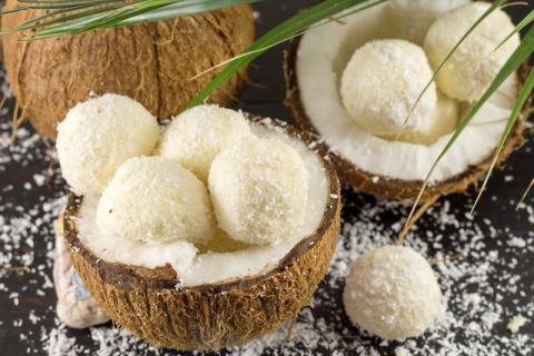 椰蓉,像白雪一样的美食