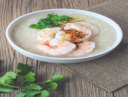 虾米菜心粥的做法 全家人都爱喝