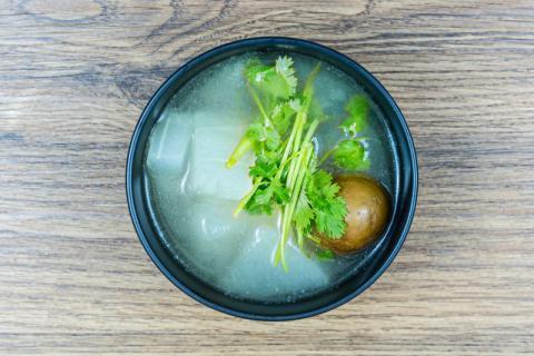 冬瓜汤和哪些食物搭配具有很好的减肥效果