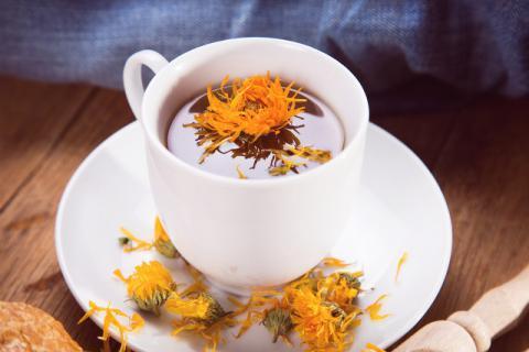 小孩感冒能喝金盏花茶吗?金盏花的功效以及禁忌了解一下