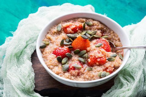 减肥期间的粗粮选择――藜麦,藜麦的食用功效与方法