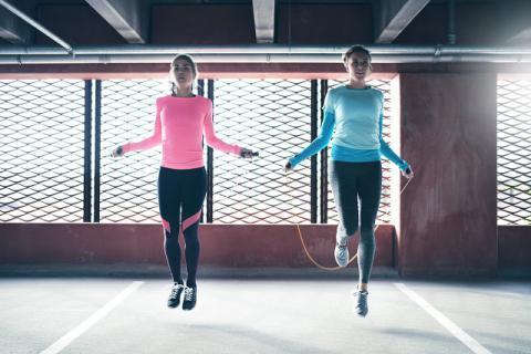 跳绳跳多久合适,想瘦身减肥你需要知道这点