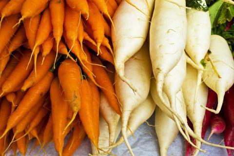 白萝卜和胡萝卜能一起吃吗,你想要的效果就在文章外面!