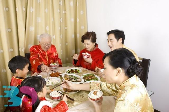 中国过年传统美食