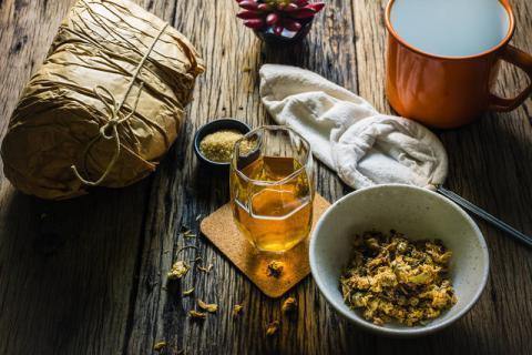 菊花和普洱茶可以一起泡茶吗,好搭配可以令其的作用翻倍
