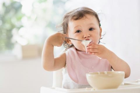 宝宝辅食紫薯泥的做法,美食诱惑从颜色开始