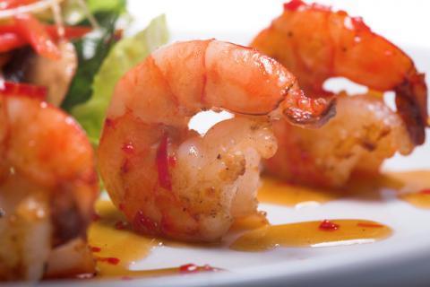 宝宝辅食西兰花虾肠的做法,做法简易!
