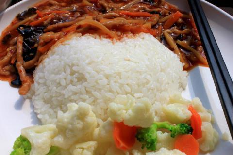宝宝鳕鱼蒸米饭