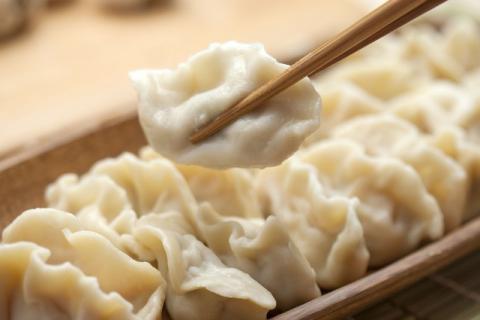 猪肉槐花饺子馅,怎么做好吃?