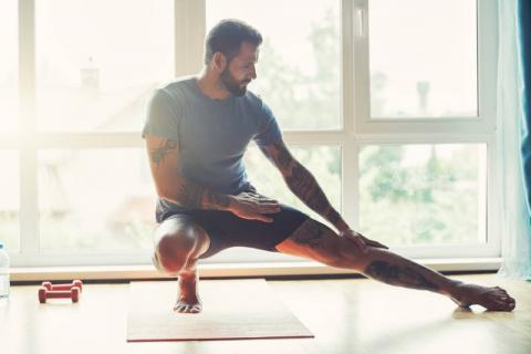 运动养生正相宜,9个养生动作练就好身材