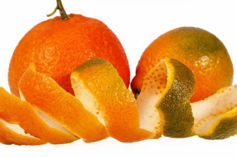 怎样用橘子皮敷肚脐