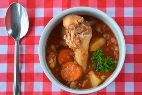 简简单单食物搭配,养生补肾壮阳汤的做法!