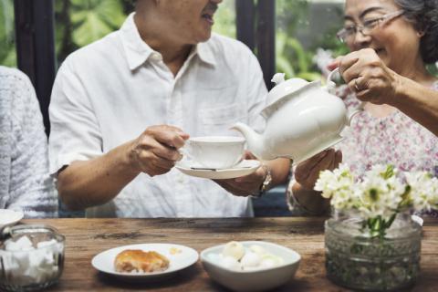 男性喝什么养生茶养身排毒,排出毒素一身轻松