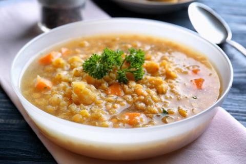 早餐营养蔬菜粥,家人喜欢喝的粥!