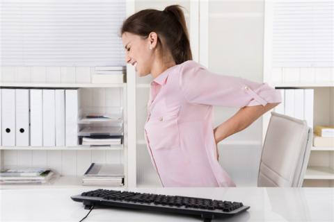 坐办公室瘦腰瘦腿的方法