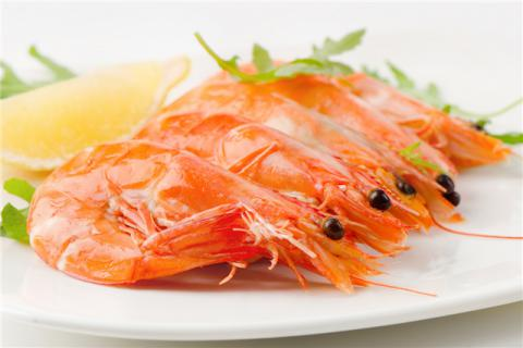 虾不能与什么一起吃