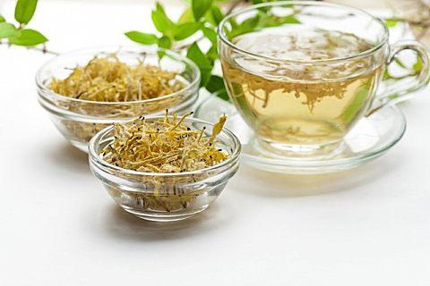 绿茶搭配金银花泡茶的功效