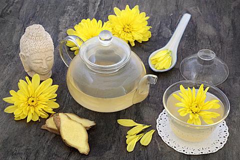 秋天适合喝的花茶