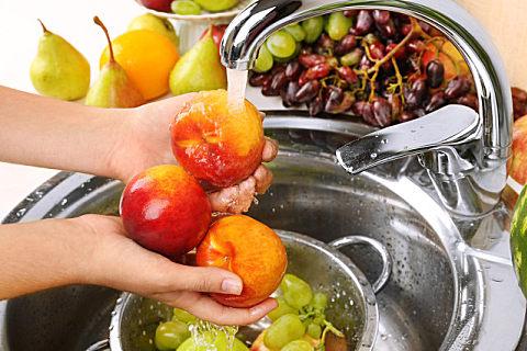 洗洁精能不能洗水果