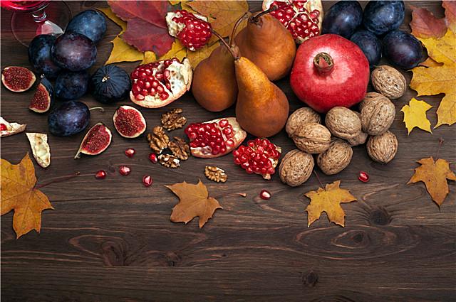 10月应季水果蔬菜