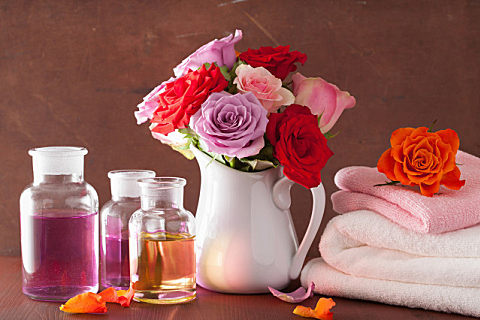 纯天然玫瑰精油怎么使用