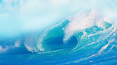 海水为什么是蓝色