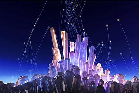 天然水晶是怎么形成的
