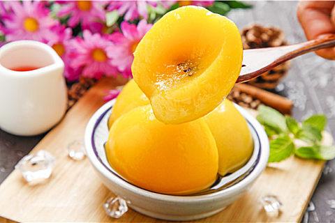 黄桃的食用禁忌
