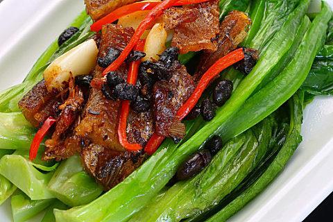 豆豉鲮鱼焖饭怎么做