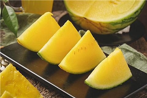 吃黄瓤西瓜的好处