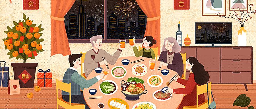 除夕为什么要吃年夜饭?除夕吃年夜饭的由来和寓意